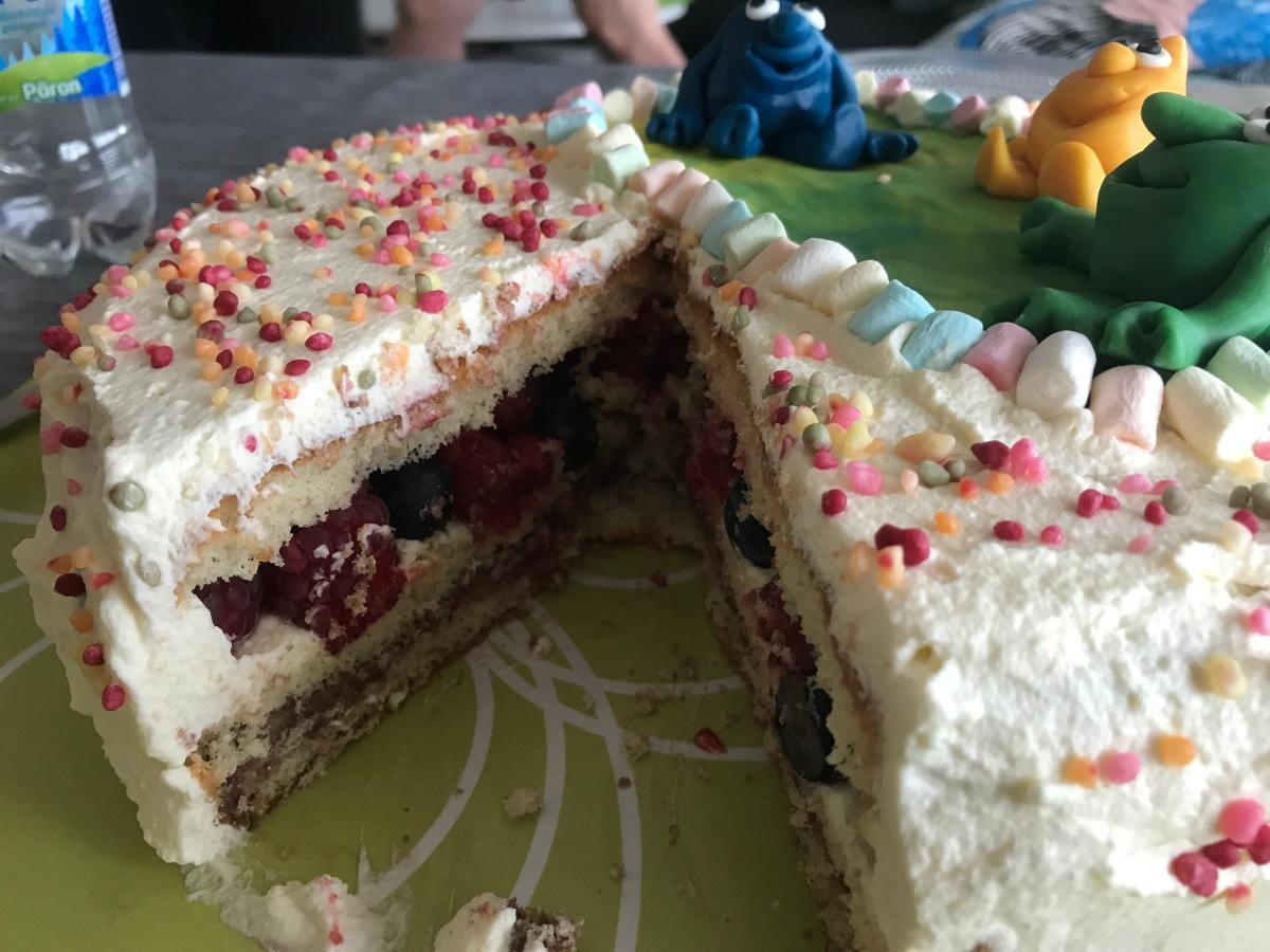 Regntunga skyar kräver tårtpyssel